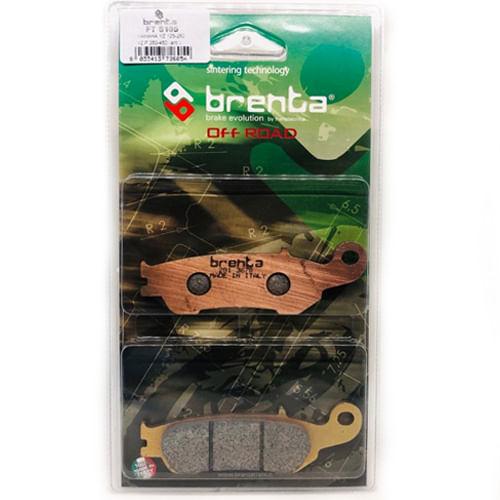 pastilha-de-freio-marca-brenta-brakes-ft6105-off-road-yamaha-yz125-yz250-wr450-yz450-dianteira